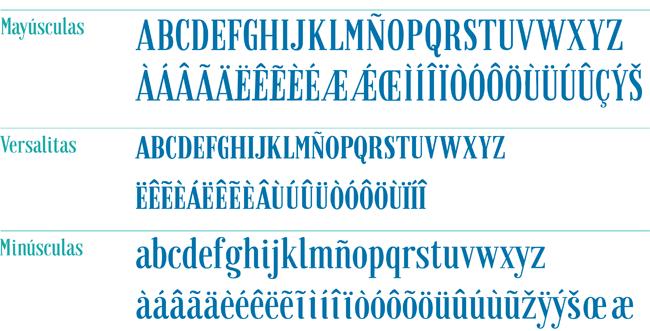 Tipografía Granaina